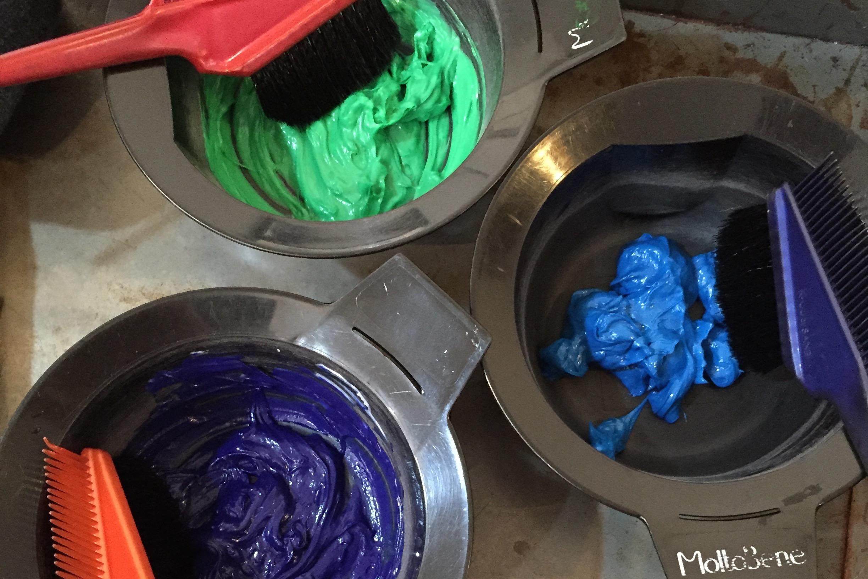 カラーバター3色使ったヘアカラー 亀有の美容師木暮史明のブログ