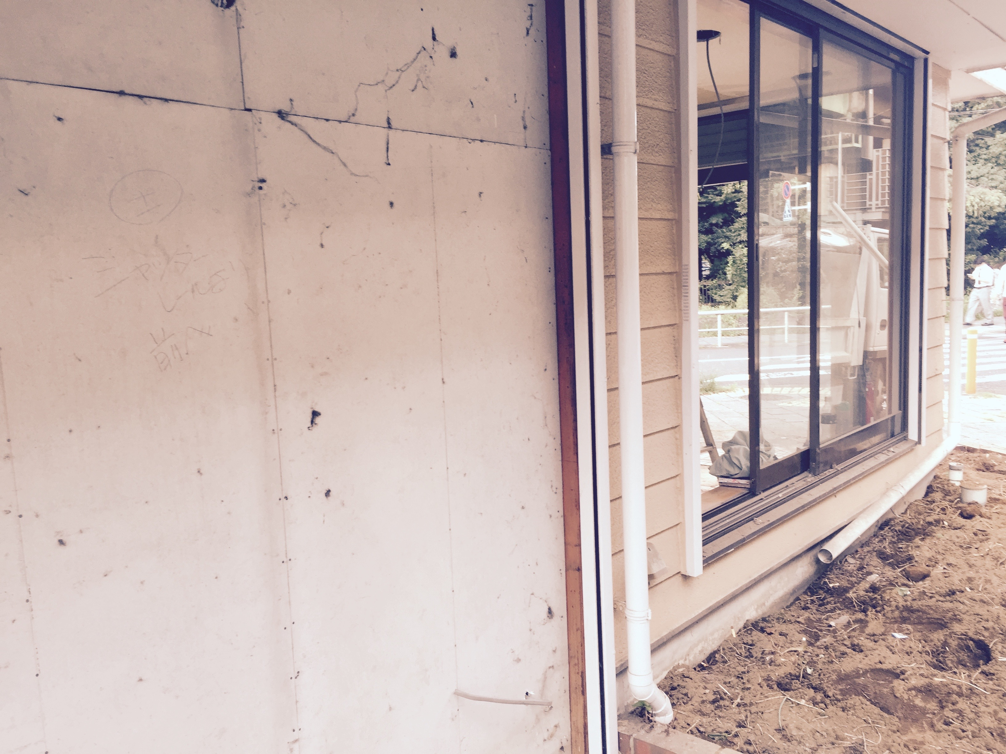 本日9月11日より内装工事始まりました。亀有美容室ラシュシュのブログ