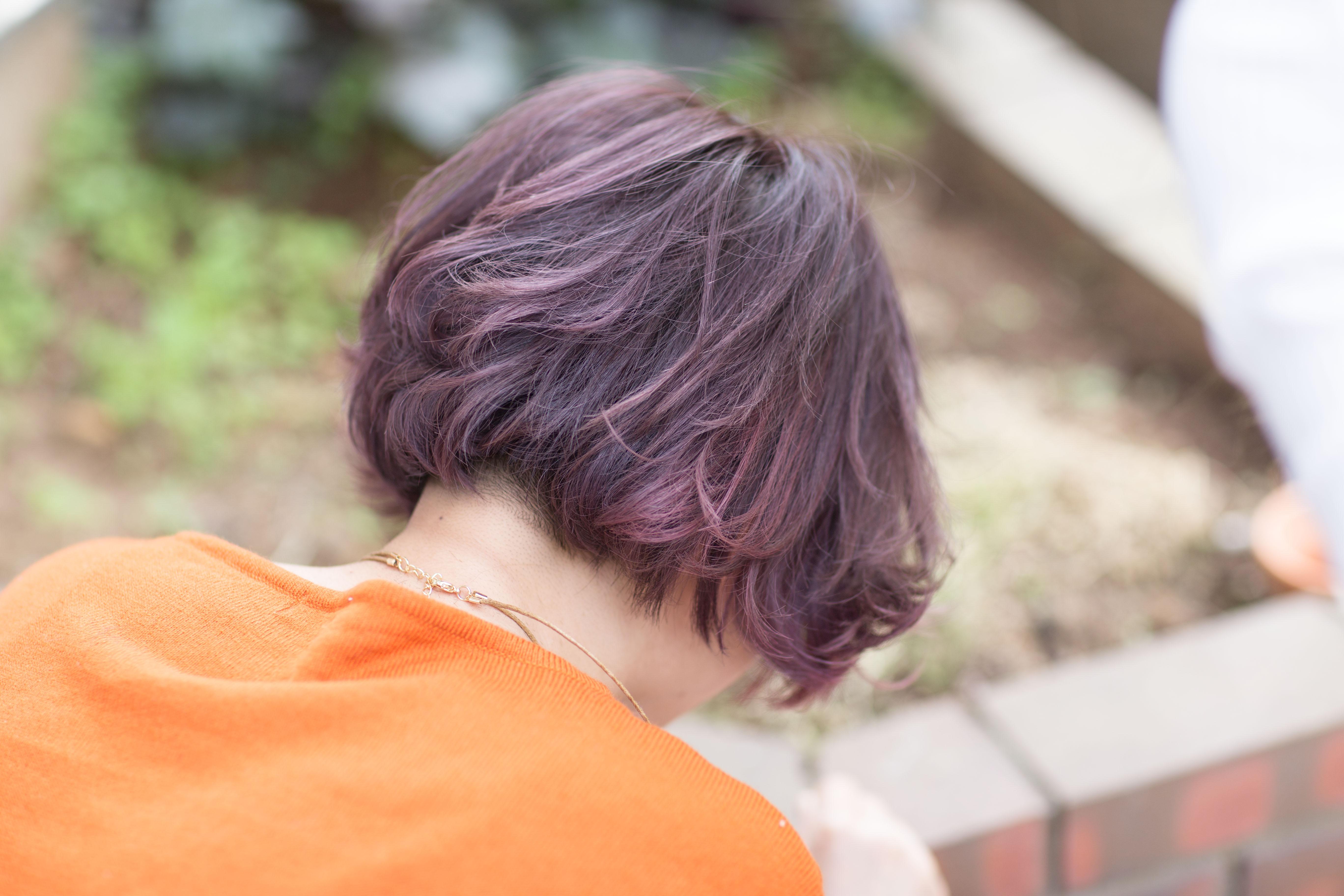 ピンクアッシュの髪色 オススメはこちら!