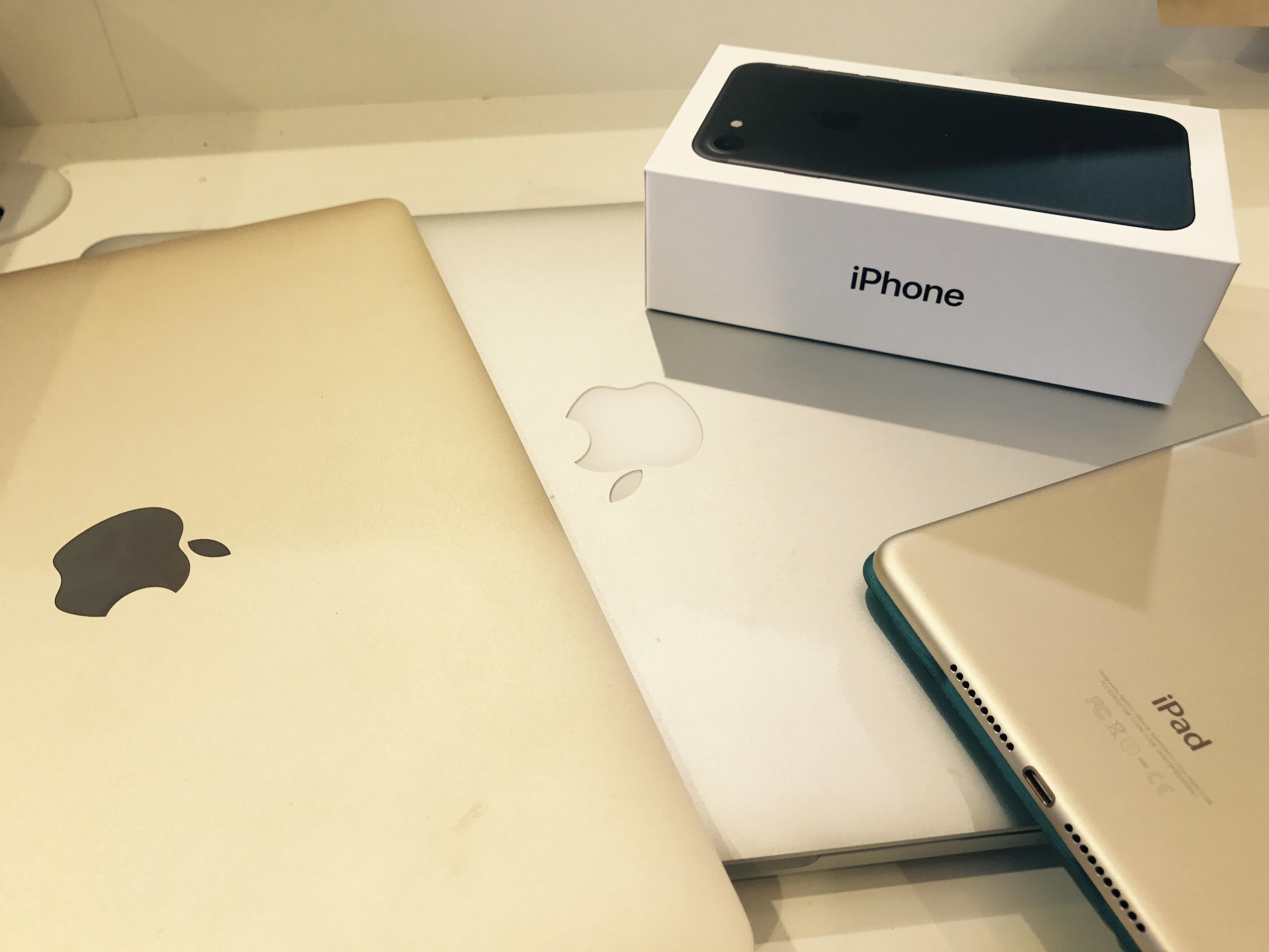 iPhone7が届いた!