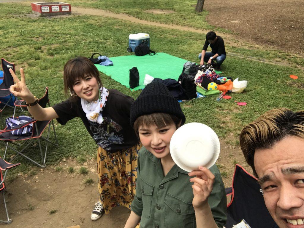 水元公園でBBQ!🍖