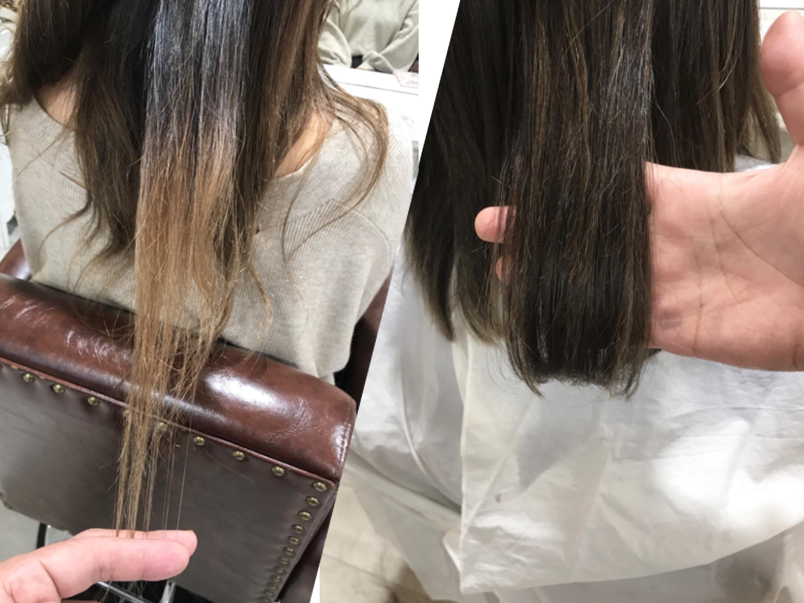 綺麗なヘアカラーをより綺麗にみせるためのカットの大切さについて