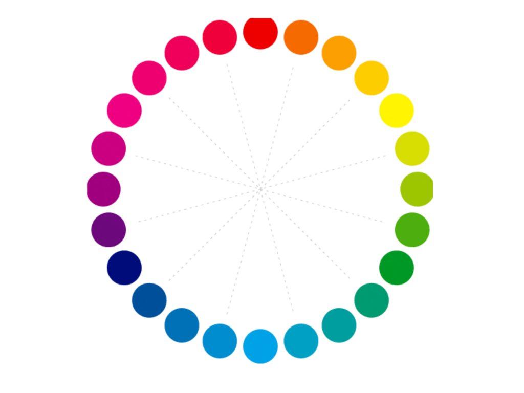 色相環で考えてみる。赤みを抑えたアッシュに染めるためのポイント