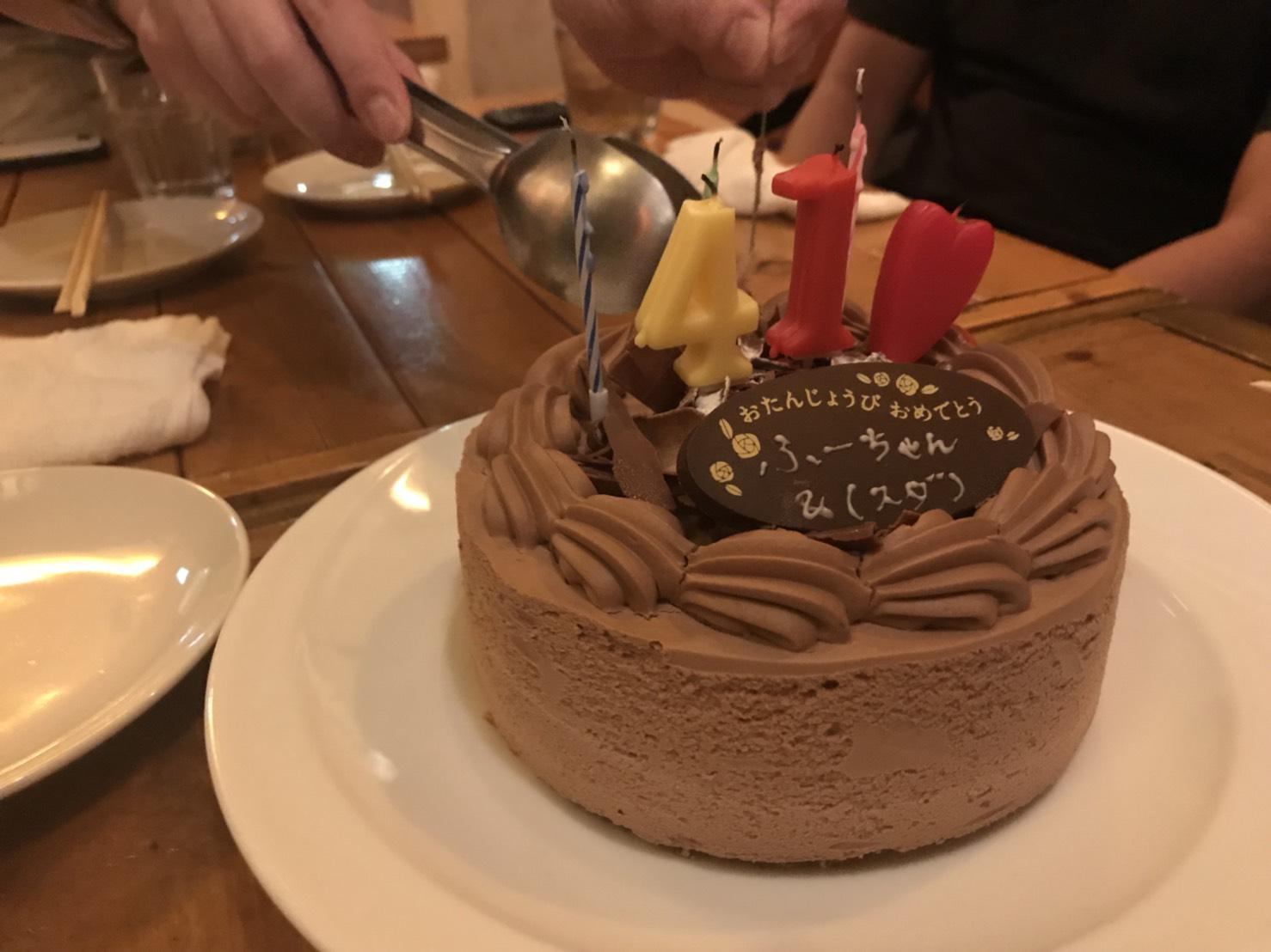 木暮さんの生誕祭しました!万歳!!