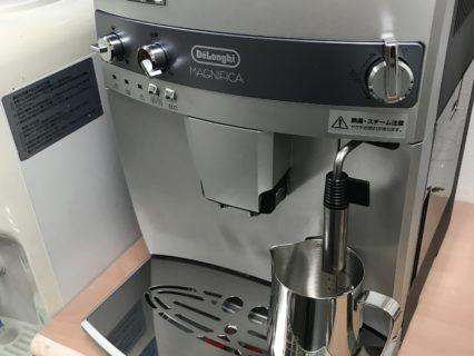 新しいコーヒーマシーンを買いました!